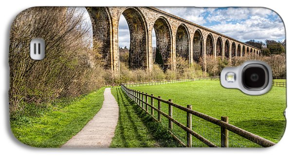 Hdr Landscape Galaxy S4 Cases - Newbridge Viaduct Galaxy S4 Case by Adrian Evans