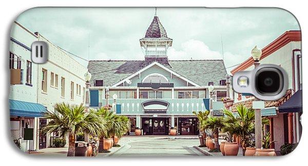 Main Street Galaxy S4 Cases - Newport Beach Balboa Main Street Vintage Picture Galaxy S4 Case by Paul Velgos