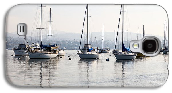Newport Beach Bay Harbor California Galaxy S4 Case by Paul Velgos