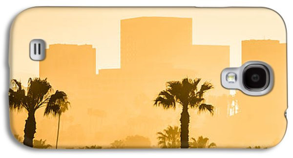 Business Galaxy S4 Cases - Newport Beach Skyline Panorama Picture Galaxy S4 Case by Paul Velgos