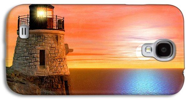 New England Ocean Galaxy S4 Cases - Newports Gem Galaxy S4 Case by Lourry Legarde