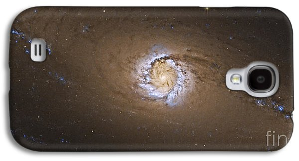 Jet Star Galaxy S4 Cases - Ngc 1097, A Barred Spiral Galaxy Galaxy S4 Case by Roberto Colombari