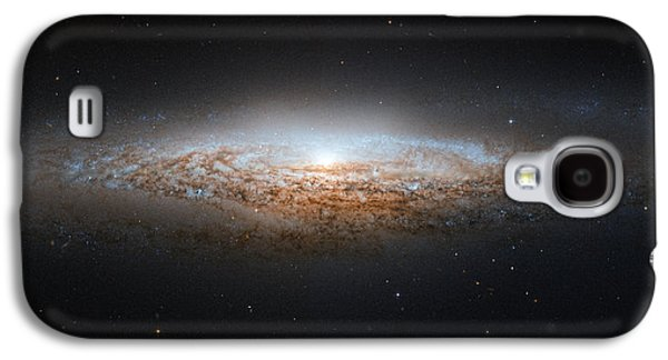 Stellar Paintings Galaxy S4 Cases - NGC 2683 Spiral galaxy Galaxy S4 Case by Celestial Images