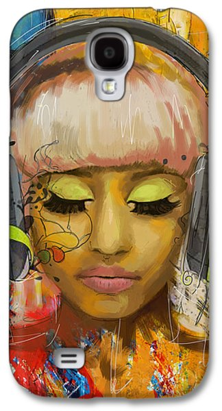 Celebrities Galaxy S4 Cases - Nicki Minaj Galaxy S4 Case by Corporate Art Task Force