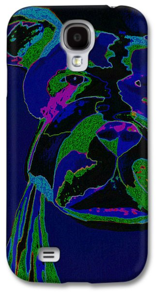 Puppy Digital Art Galaxy S4 Cases - Night Boss Galaxy S4 Case by Erica  Darknell