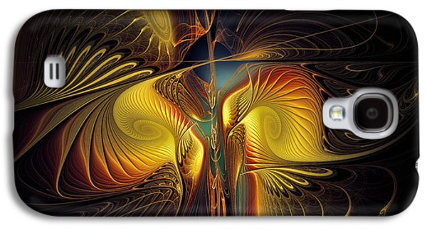 Contemplative Digital Galaxy S4 Cases - Night Exposure Galaxy S4 Case by Karin Kuhlmann
