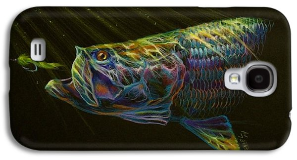 Transportation Pastels Galaxy S4 Cases - Night fly Galaxy S4 Case by Yusniel Santos