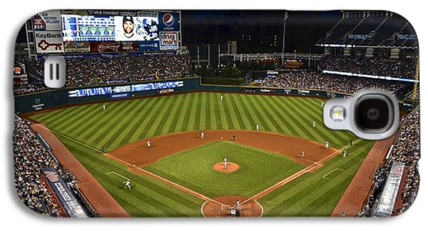1st Base Galaxy S4 Cases - Night Game Galaxy S4 Case by Frozen in Time Fine Art Photography