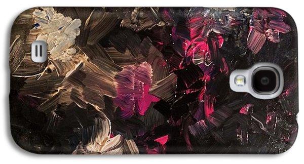 Anna Villarreal Garbis Galaxy S4 Cases - Night Garden Galaxy S4 Case by Anna Villarreal Garbis
