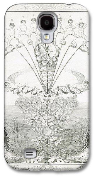 Night Angel Galaxy S4 Cases - Night Galaxy S4 Case by Philipp Otto Runge