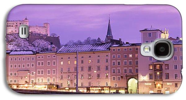 Salzburg Galaxy S4 Cases - Night Salzburg Austria Galaxy S4 Case by Panoramic Images