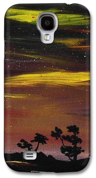 Dramatic Galaxy S4 Cases - Night Scene Galaxy S4 Case by Anastasiya Malakhova