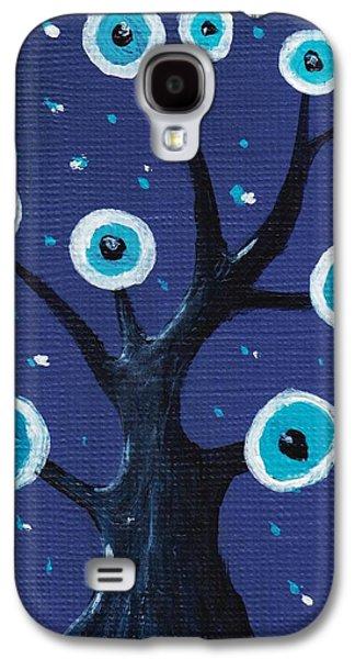 Night Sentry Galaxy S4 Case by Anastasiya Malakhova