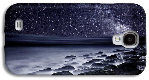 Waterscape Galaxy S4 Cases - Night shadows Galaxy S4 Case by Jorge Maia