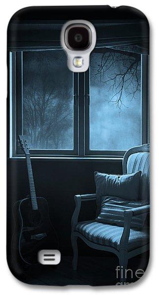 Creepy Digital Galaxy S4 Cases - Night time story room Galaxy S4 Case by Svetlana Sewell
