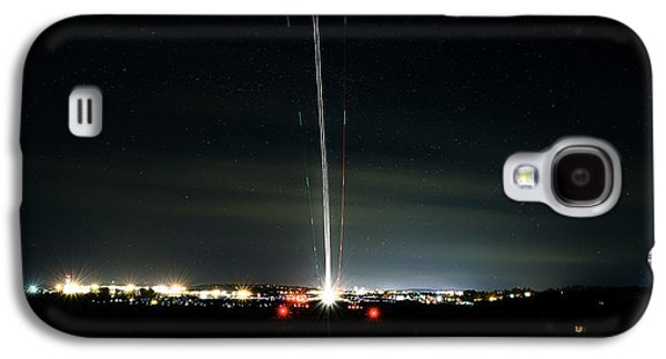 Jet Star Galaxy S4 Cases - Night Traffic Galaxy S4 Case by Cke Photo
