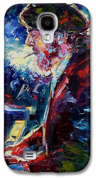 Night Paintings Galaxy S4 Cases - Night Tripper Galaxy S4 Case by Debra Hurd