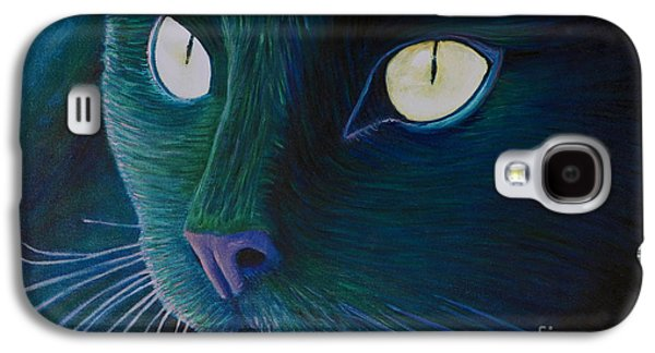 Kitten Galaxy S4 Cases - Night Vision Galaxy S4 Case by Brian  Commerford