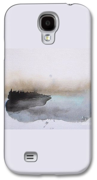 Nightfall On The Lake  Galaxy S4 Case by Vesna Antic