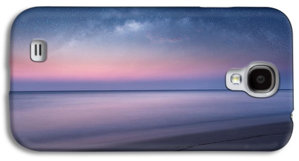 The Heavens Galaxy S4 Cases - Nightfall Seascape Galaxy S4 Case by Bill  Wakeley