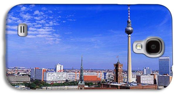 Berlin Germany Galaxy S4 Cases - Nikolai Quarter, Berlin, Germany Galaxy S4 Case by Panoramic Images