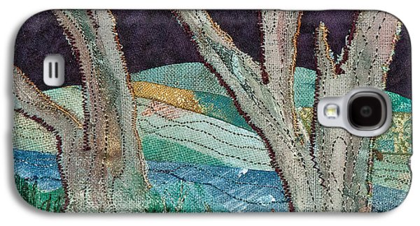 Autumn Landscape Tapestries - Textiles Galaxy S4 Cases - Nisqually II Galaxy S4 Case by Susan Macomson