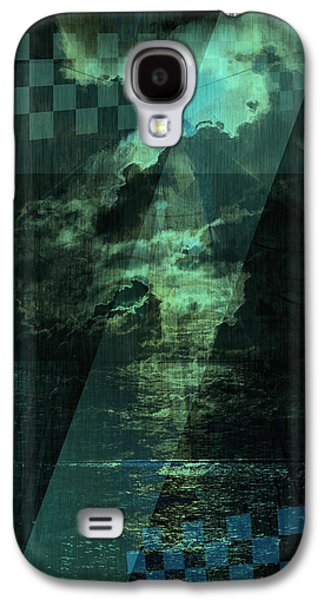 Abstract Landscape Pyrography Galaxy S4 Cases - No 030 Galaxy S4 Case by Alexander Ahilov