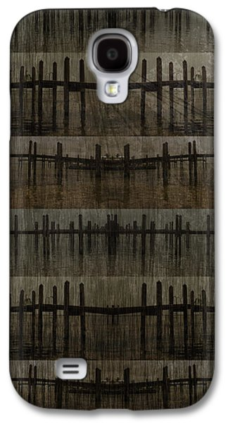 Abstract Landscape Pyrography Galaxy S4 Cases - No 050 4 Galaxy S4 Case by Alexander Ahilov