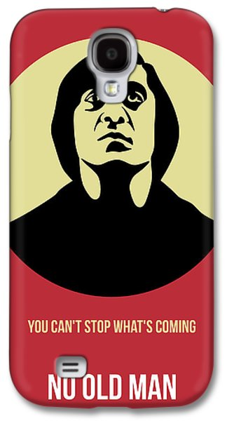 Old Man Digital Art Galaxy S4 Cases - No Country for Old Man Poster 3 Galaxy S4 Case by Naxart Studio