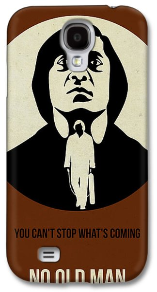 Old Man Digital Art Galaxy S4 Cases - No Country for Old Man Poster Galaxy S4 Case by Naxart Studio