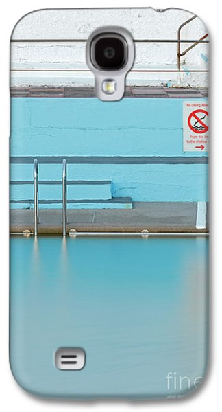 Tidal Photographs Galaxy S4 Cases - No Diving Galaxy S4 Case by Richard Thomas