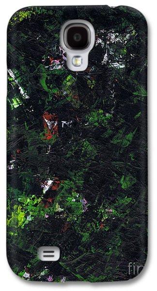 Metallica Galaxy S4 Cases - No Leaf Clover - Right Galaxy S4 Case by Kamil Swiatek
