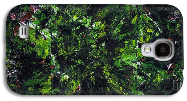 Metallica Galaxy S4 Cases - No Leaf Clover - Triptych  Galaxy S4 Case by Kamil Swiatek