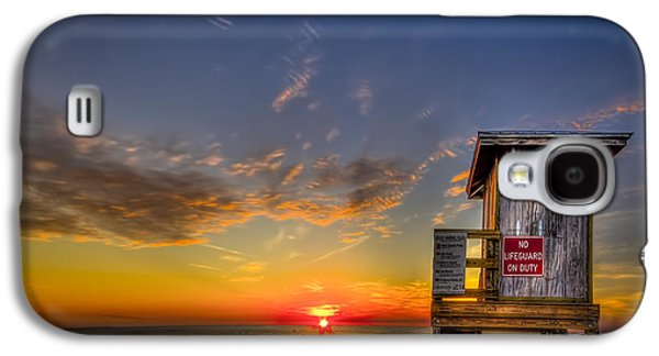 Shed Photographs Galaxy S4 Cases - No Life Guard On Duty Galaxy S4 Case by Marvin Spates