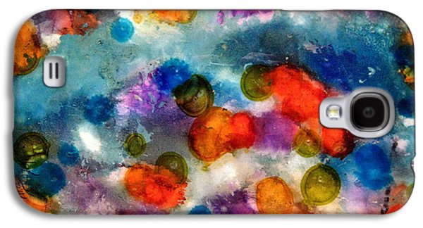 Indian Ink Mixed Media Galaxy S4 Cases - No Rain Galaxy S4 Case by Jane Biven