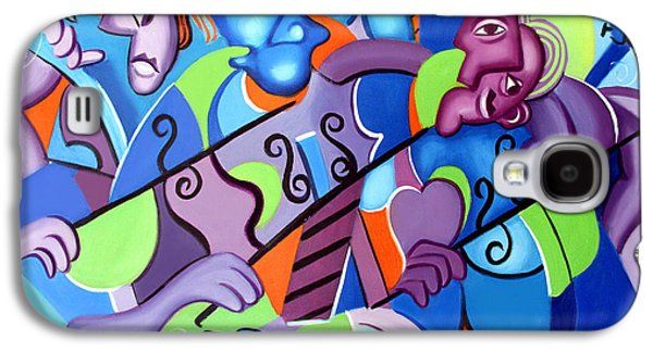 Posters On Digital Galaxy S4 Cases - No Strings Attached Galaxy S4 Case by Anthony Falbo
