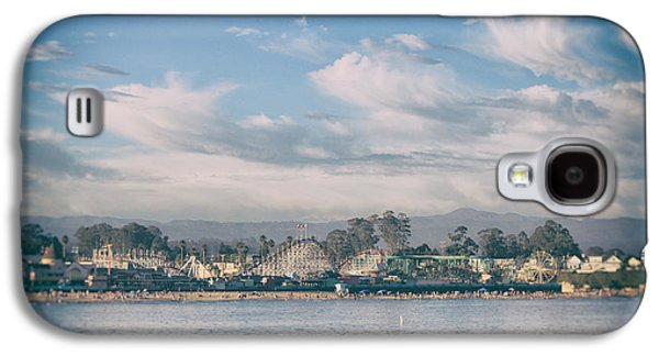 Santa Cruz Ca Galaxy S4 Cases - No Summertime Blues Galaxy S4 Case by Laurie Search