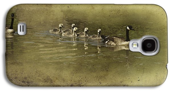 Mother Goose Galaxy S4 Cases - No Time for Stragglers Galaxy S4 Case by Diane Schuster