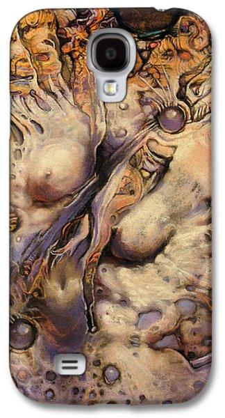 Surrealism Pastels Galaxy S4 Cases - No Title 7 Galaxy S4 Case by Graszka Paulska