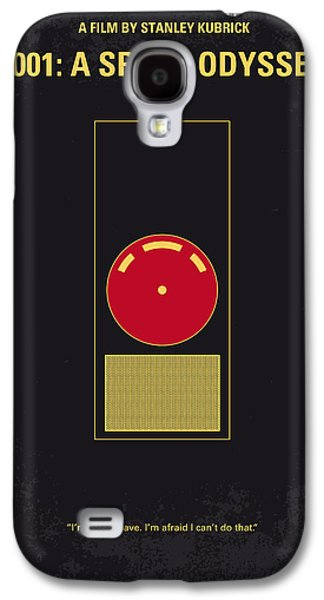 Moon Digital Galaxy S4 Cases - No003 My 2001 A space odyssey 2000 minimal movie poster Galaxy S4 Case by Chungkong Art