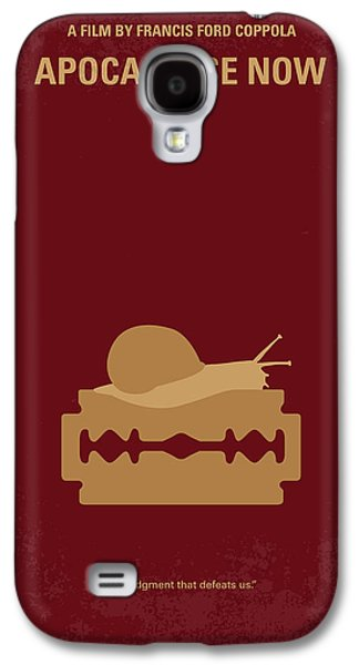 Horror Galaxy S4 Cases - No006 My Apocalypse Now minimal movie poster Galaxy S4 Case by Chungkong Art