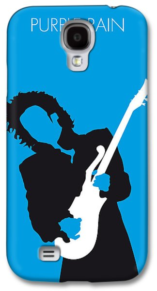 Purple Prints Galaxy S4 Cases - No009 MY PRINCE Minimal Music poster Galaxy S4 Case by Chungkong Art