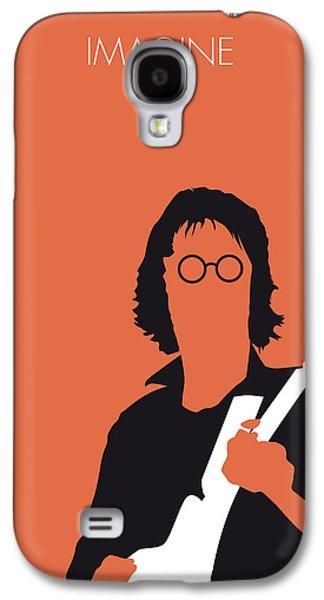 John Lennon Galaxy S4 Cases - No013 MY John lennon Minimal Music poster Galaxy S4 Case by Chungkong Art