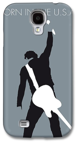 Bruce Springsteen Digital Galaxy S4 Cases - No017 MY Bruce Springsteen Minimal Music poster Galaxy S4 Case by Chungkong Art