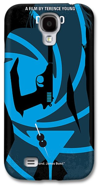 Young Galaxy S4 Cases - No024 My Dr No James Bond minimal movie poster Galaxy S4 Case by Chungkong Art