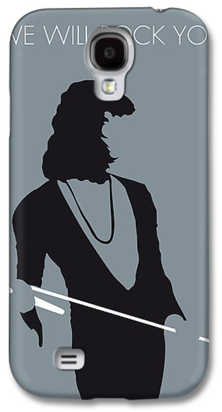 70s Galaxy S4 Cases - No027 MY QUEEN Minimal Music poster Galaxy S4 Case by Chungkong Art