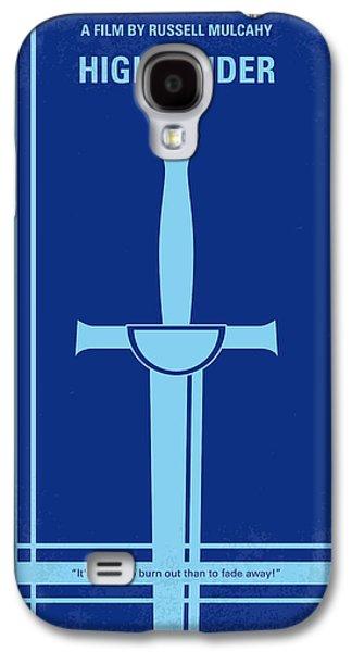 No034 My Highlander Minimal Movie Poster.jpg Galaxy S4 Case by Chungkong Art