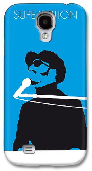 70s Galaxy S4 Cases - No039 MY STEVIE WONDER Minimal Music poster Galaxy S4 Case by Chungkong Art