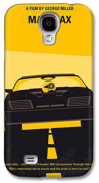 Fan Art Galaxy S4 Cases - No051 My Mad Max minimal movie poster Galaxy S4 Case by Chungkong Art