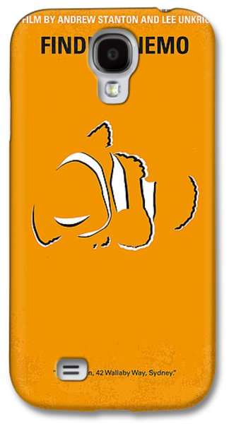 Marlin Galaxy S4 Cases - No054 My nemo minimal movie poster Galaxy S4 Case by Chungkong Art